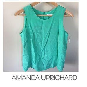 Amanda Uprichard Pastel Green Top